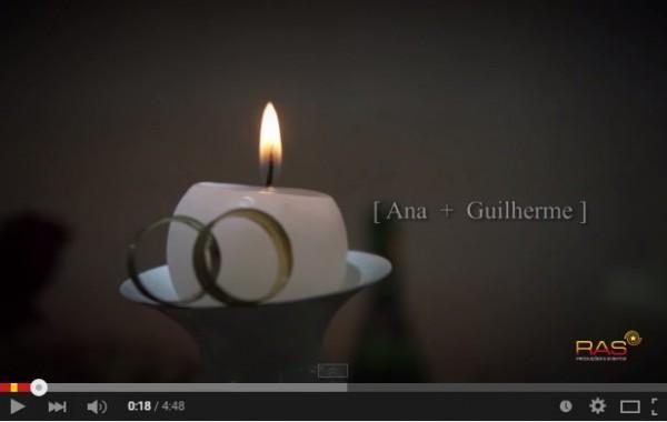 SHORT MOVIE – CASAMENTO ANA E GUILHERME